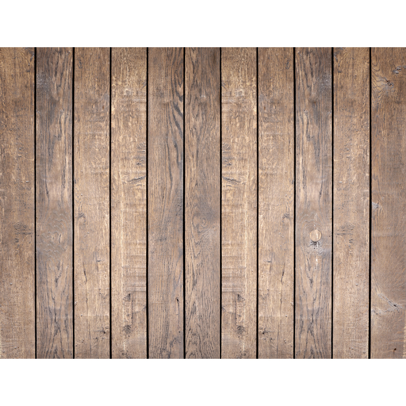 Vinyl Photography Background Brown Wooden Floor Computer Printed Children Backdrops for Photo Studios ZH-157