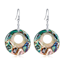 Ajojewel Hollow Moon Drop Earrings For Women High Quality Party Jewelry Exaggerated Female Temperament
