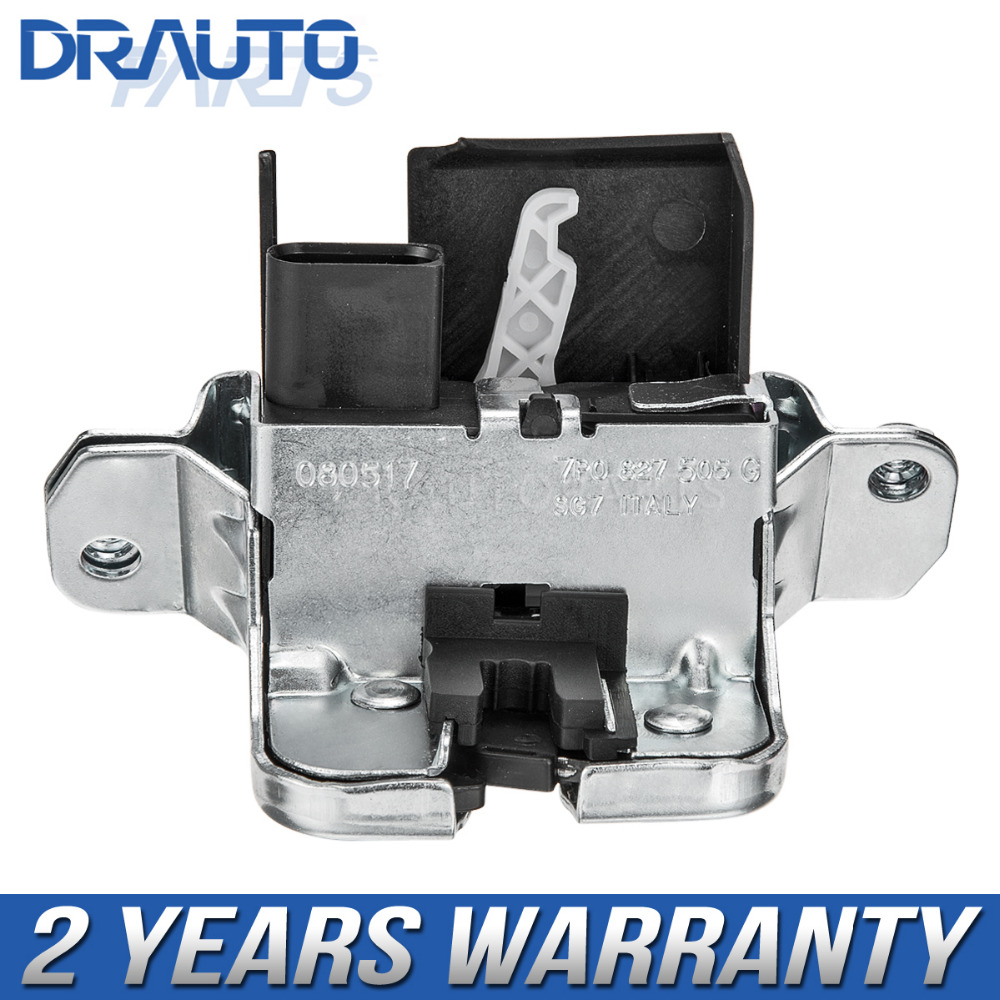 Rear Trunk Door Lock switch For VW Touareg Sharan for Seat Alhambra 2011 2012 2013- 7P0827505G