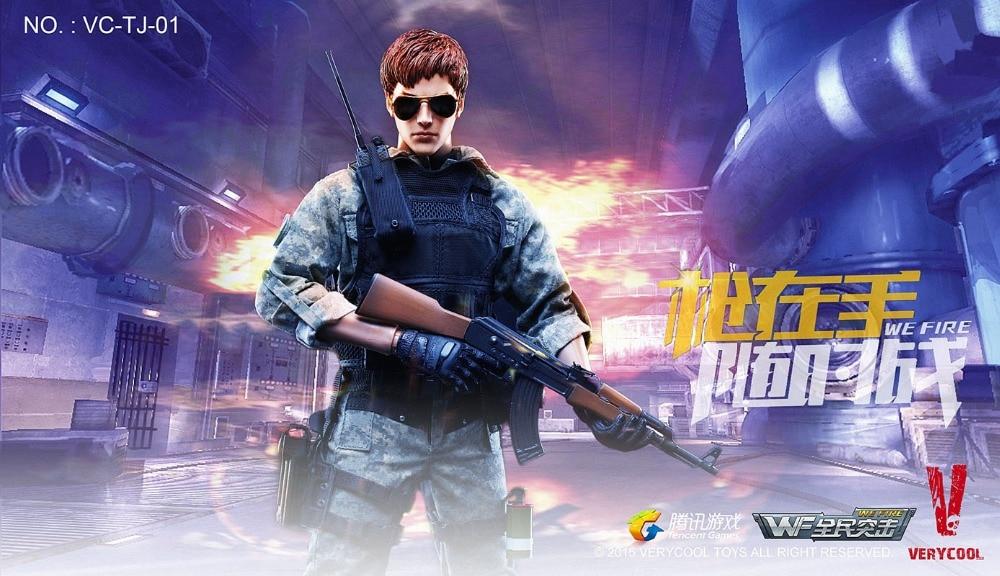 VeryCool VC-TJ-01 1//6 Wefire Light Speed Boy Camouflage Combat Uniform Model