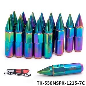 Image 3 - Blox 20Pcs 12X1.5 A Spillo di Alluminio 60 MILLIMETRI Estesa Tuner Ruote Cerchi Lug Nuts Racing Jdm AF 550NSPK 1215