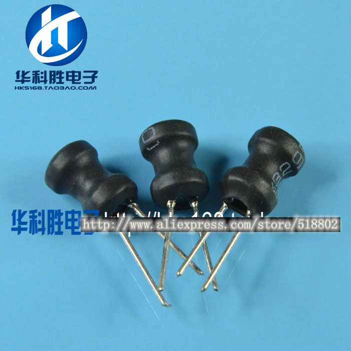 (20pcs/lot) Word inductance inductor 220UH (1A) specification 8 * 10MM environmental