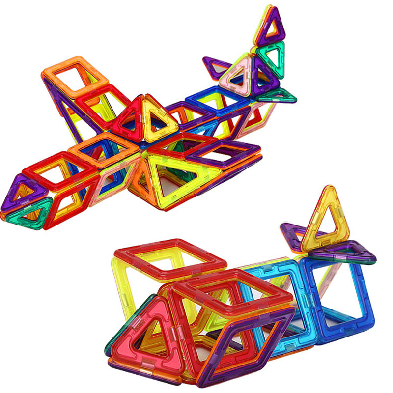 Magnetic Building Toys : Magnetic building toys pieces free shipping worldwide