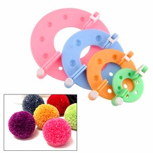 Weaving tools pompon braider Knitting wool ball Do ball Wool remover producing device sewing machine presser foot P20