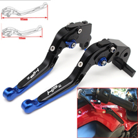 Motorcycle CNC Adjustable Foldable brake Clutch Levers for BMW HP2 SPORT 2008 2011 with Logo (HP2 SPORT)