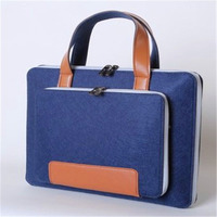 Wool Felt Laptop Sleeve Bag 11 12 13 15 17 Inch Briefcase Hand Bags For Macbook