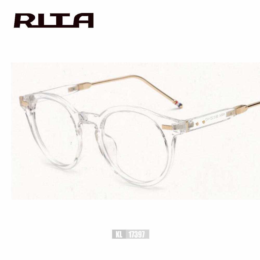 2944a33e40a1 2017 RITA HOT SALE TB Brand Eyeglasses Frames MEN THOM BROWNE Fashion  Glasses Computer Optical Frame-in Eyewear Frames from Apparel Accessories  on ...