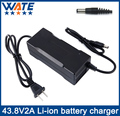 43.8V2A Charger 12S 36V 38.4V Lifepo4 battery Charger Output DC 43.8V With cooling fan Free Shipping