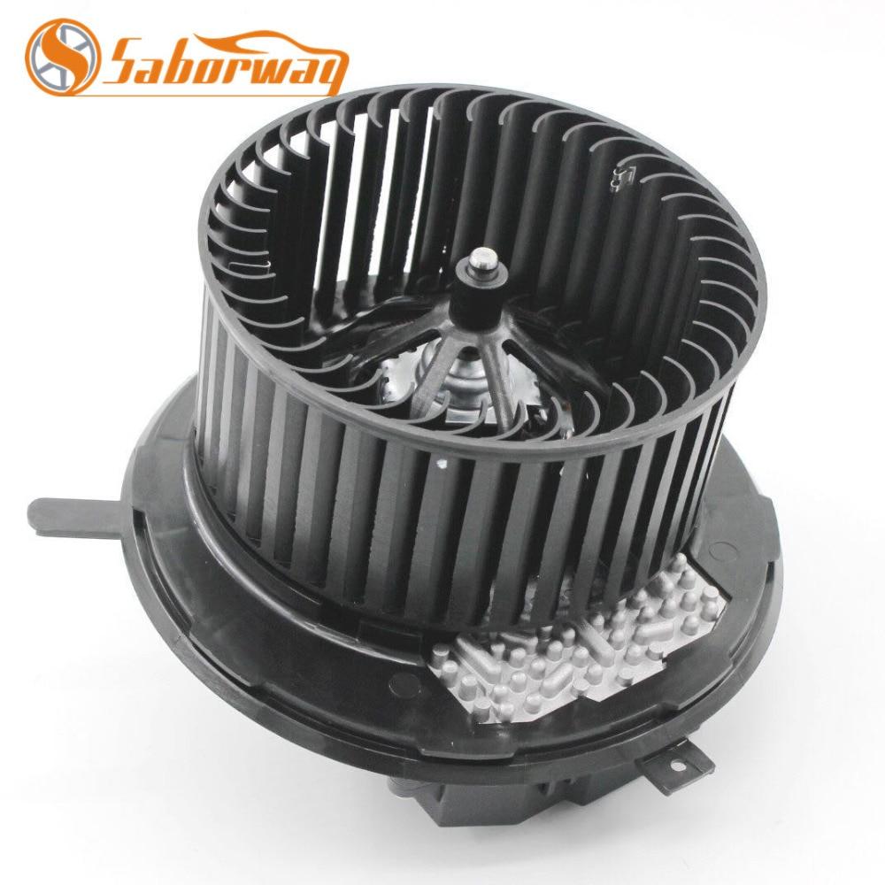 Saborway LHD AC Blower Motor For Automatic Climate Control Trig Eos Golf Jetta Passat Tiguan CC