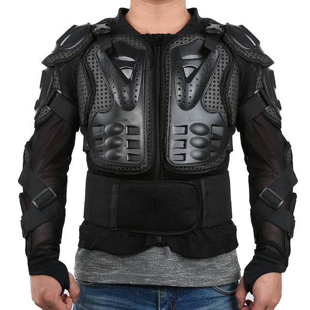 Motocross Armor Vest Chest Gear Parts Full Body Motorcycle Armor Jacket Protective Shoulder Hand Joint Protection Accessories 2