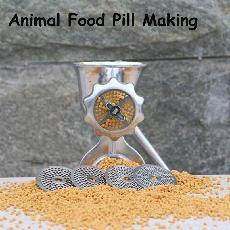 Manual Birds Fishing Bait Granulator Pill Making Machine/ Pelleter/ Animal Food Maker Pellet Mell yk60 oscillaing granulator machine
