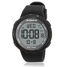 Quente!! Relógio digital à prova d'água, relógios à prova d'água da moda para homens, esportivo, multifuncional, ar livre, 100m, natação, mergulho