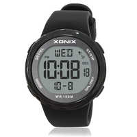 Hot!! Moda masculina esportes relógios à prova dwaterproof água 100m diversão ao ar livre multifunções relógio digital natação mergulho relógio de pulso reloj hombre