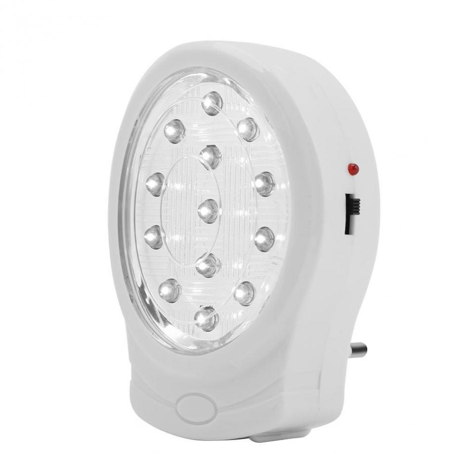 13 LED Rechargeable Home Emergency Light Automatic Power Failure ...
