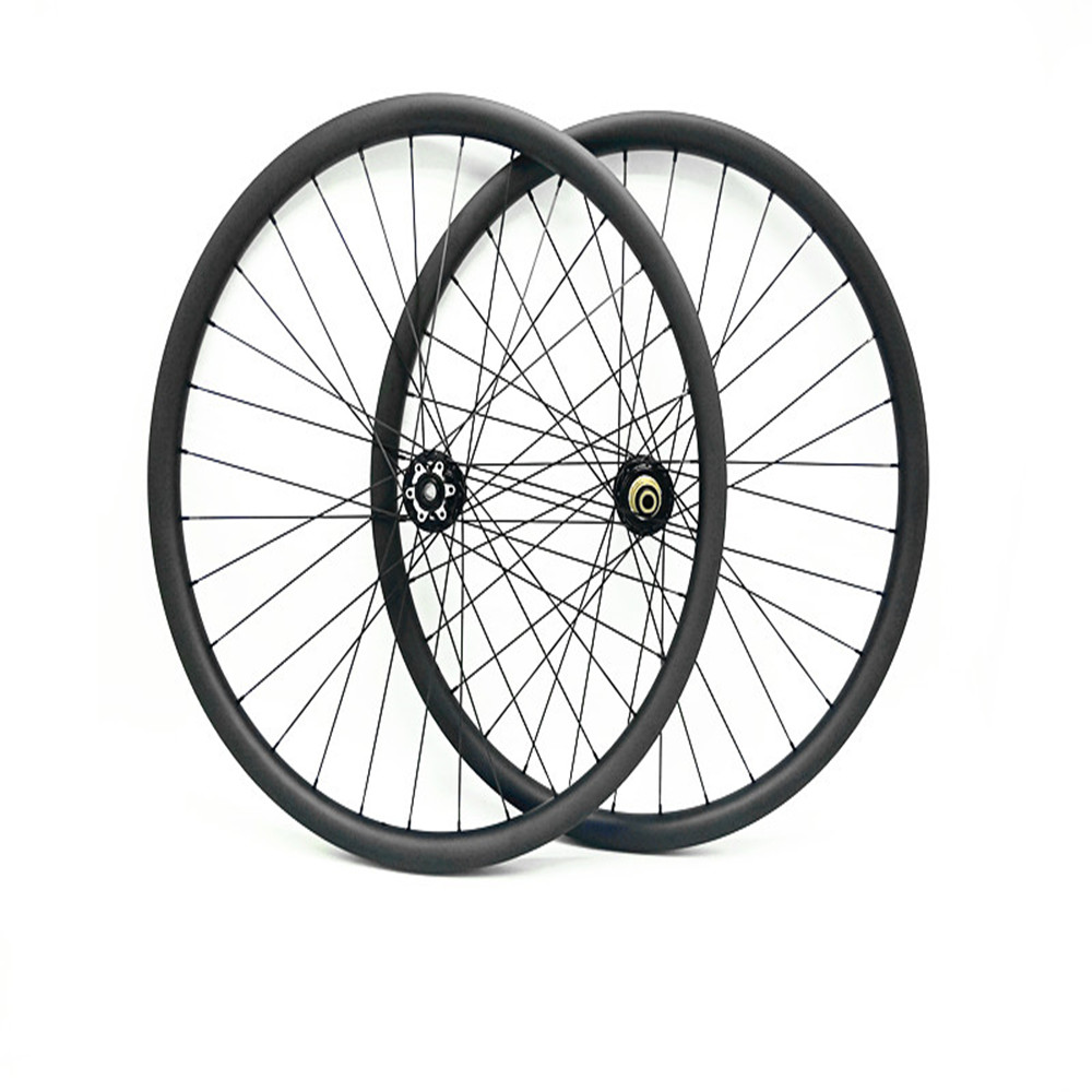 carbon mtb wheelset 27.5er mtb wheels MTB bike 650B wheels 35mm hookless Mountain bicycle MTB wheelset 100 135 UD matte wheel