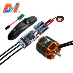 Maytech 5055 220KV electric scooter motor and SuperESC based on newest vesc and off road skateboard remote