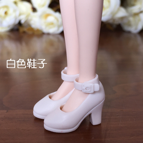 New 4Pairs High Heel Shoes For Blythe Dolls 1/6 BJD Doll Accessories 1/6 Fashion Doll Shoes For Licca Mini Shoes For Momoko Lahore