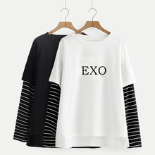 EXO Striped Sleeve Shirts (20 Models)