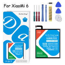Original Da Xiong Lithium Polymer Battery BM39 for Xiaomi Mi6 /MI6 3350mAh Replacement Free Tools Package
