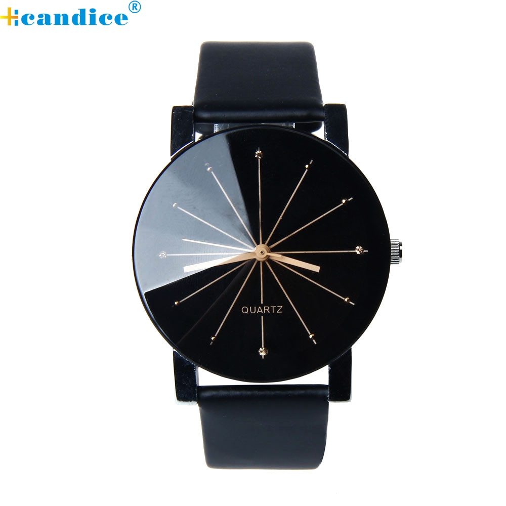 Splendid Luxury design watch 1PC Men Quartz Dial Clock Leather Wrist Watch Round Case male watch Masculino Reloje splendid brand new boys girls students time clock electronic digital lcd wrist sport watch