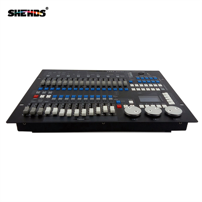 2pcs/lot Stage Light Equipment DMX Conlose 1024 Lighting Controller Stage Light Control The Moving Head Fast Shipping,SHEHDS