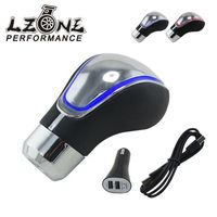 LZONE RACING-Manual Gear Shift Knob Universal LED Touch Activado Gear Knob Shifter Gear JR-GSK17W