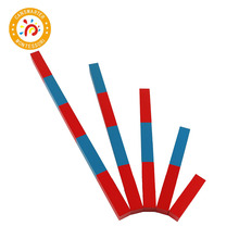 Montessori Learning Math Numerical Rods 5 steps Preschool Kids Toy