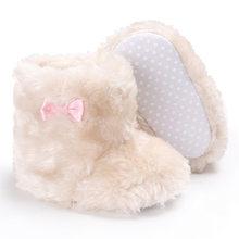 76ddcdf8d90 Raise Young Winter Plus Velvet Warm Baby Girl Shoes Cotton Soft Soles Plush Toddler  Girl Snow Boots Newborn Infant Booties 0-18M