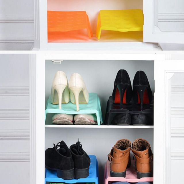 Thick Double Shoe Racks Cleaning Storage Shoes Rack Living Room Modern  Convenient Shoebox Shoes Organizer Stand Part 61