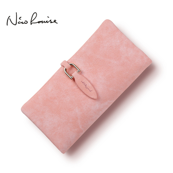 2018 Latest Women leather Leaf Long Wallet Female Coin Purse Change Clasp Purse Money Bag Card Holders Womens Wallets And Purses