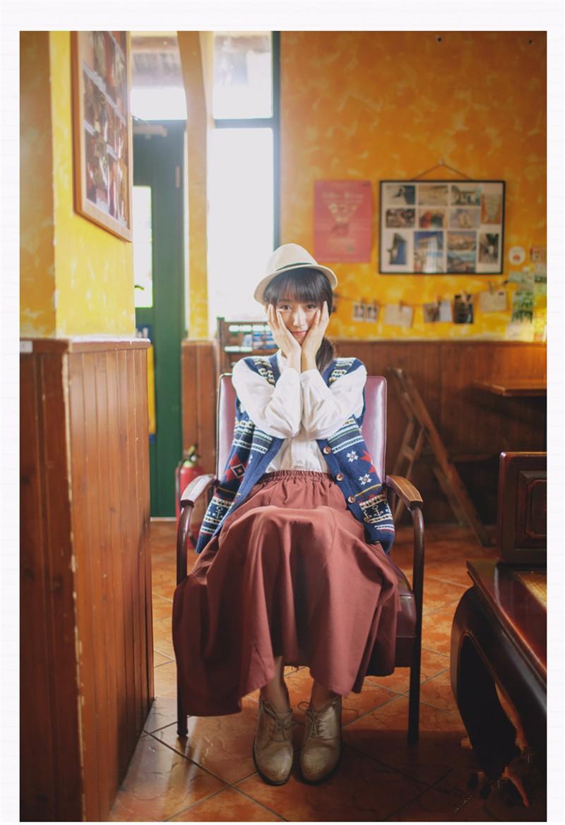 linen skirt 01
