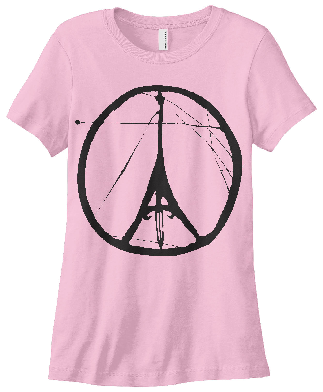 Womens Peace And Strength For Paris T Shirt France For New Fashion