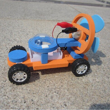 A set of educational children experiment creative high science technological two movement way electionic power car toy
