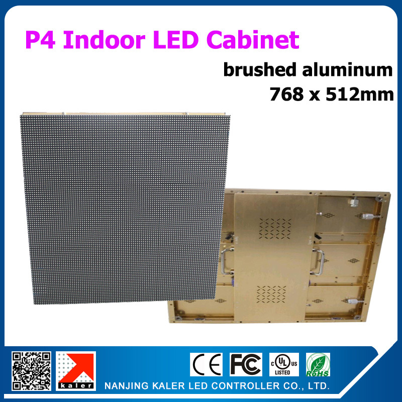 TEEHO High Resolution Stage LED Wall Rental Led Display 768x512mm P4 LED Cabinet Rental Aluminum Led Video Wall