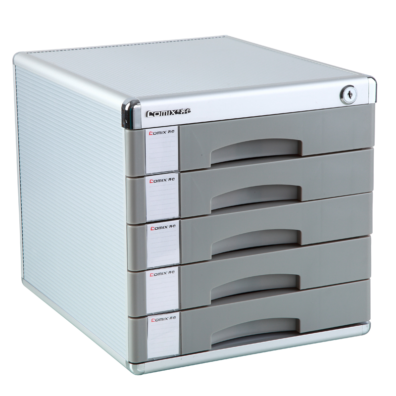 Office Supplies With Lock File Cabinet Box Five Layer Of