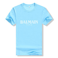 balmain shirt 2019 NEW BALMAIN T-shirt Singlets bodybuilder T-shirt, gold gym set,