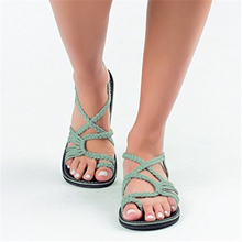 New Women Sandals Fashion Summer Shoes Gladiator Beach Flat Casual Leisure Female Ladies Platforms