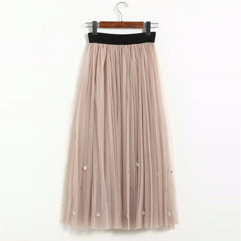 lace long skirt 10