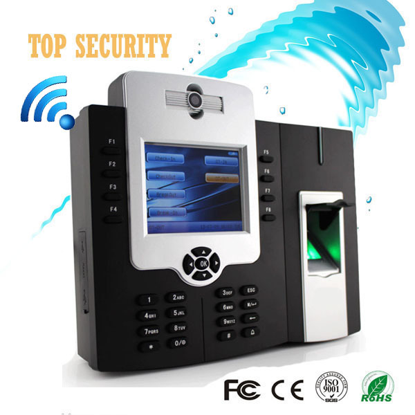 WIFI TCP/IP fingerprint time attendance and access control with back up battery and built in camera iclock880 wifi biometric face time attendance and access control system iface302 wifi communication fingerprint wifi terminal