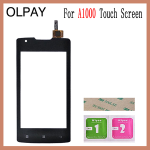 "Image 2 - 4.0""  inch For Lenovo A1000 Touch Screen Glass Digitizer Panel Touch Screen Front Glass Lens Sensor Tools"