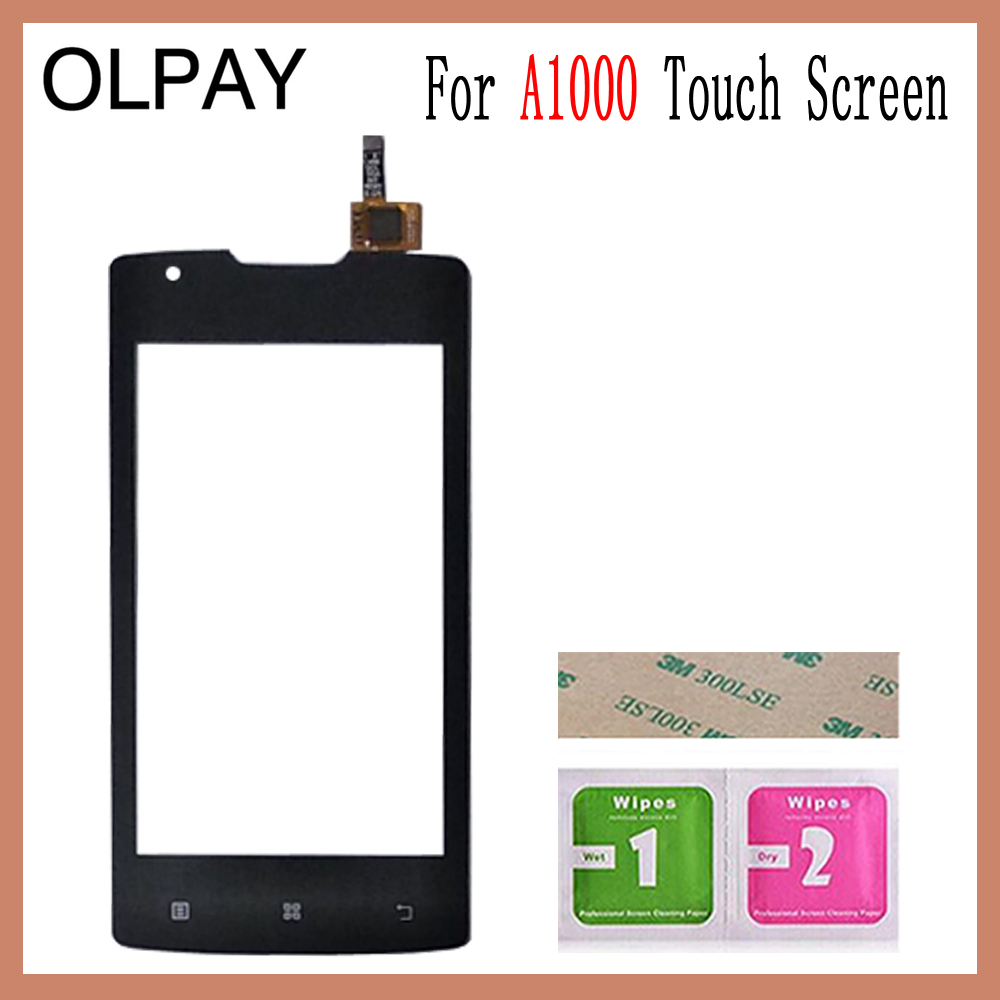 Image 4 - OLPAY 4.0 inch For Lenovo A1000 A 1000 Touch Screen Glass Digitizer Panel Touch Screen Front Glass Lens Sensor Tools-in Mobile Phone Touch Panel from Cellphones & Telecommunications