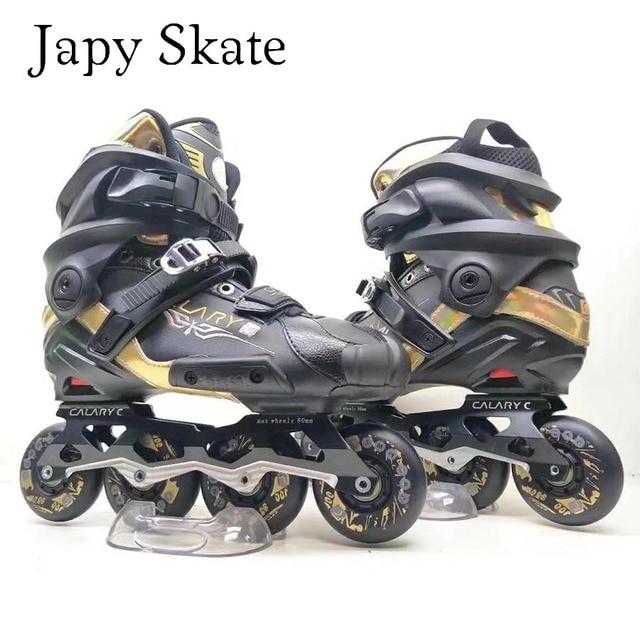 6f13aa415 Japy C8 de Skate Slalom Adulto Patins Patins Inline Semi-soft Boot  Semelhante Com SEBA