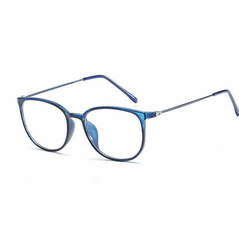 bd09b658a20b Fashion Spectacle Frame Simple Men Women Optical Glasses Frame With Clear  Glass Brand Clear Transparent Women s