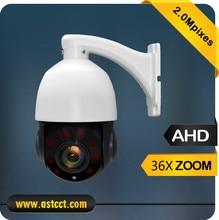 1080P HD High Speed Dome Camera 36x Optical Zoom AHD PTZ Camera Sony 323 Sensor Mini PTZ Camera Support Coaxial Cable Control