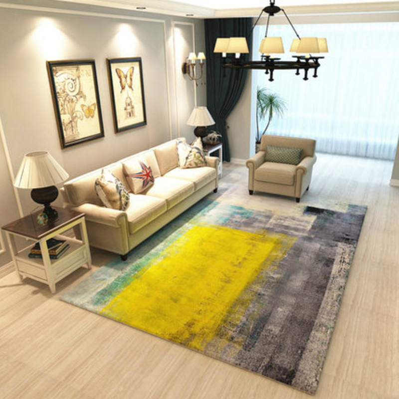 Modern style abstract art large rug carpet big size high - Modern carpets for living room ...