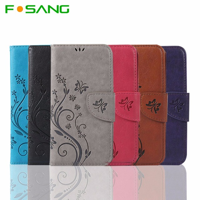 For Wiko Lenny 3 Luxury Retro Flip Case PU Leather + Soft Silicon Wallet Cover For Coque Wiko Lenny3 Case phone Fundas