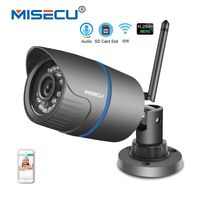 MISECU Audio 2 8mm H 264 720P 960P IP WIFI Camera SD Slot Built In P2P