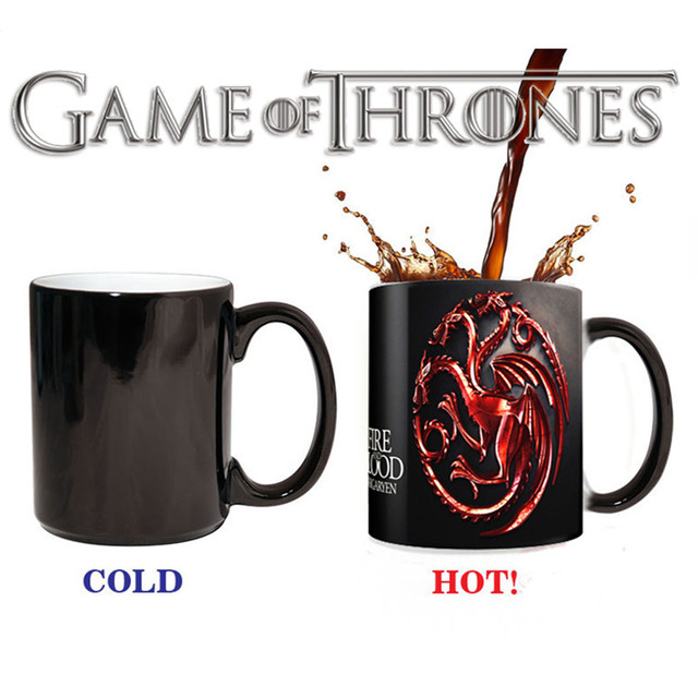 Game of Thrones Sensitive Ceramic Mug