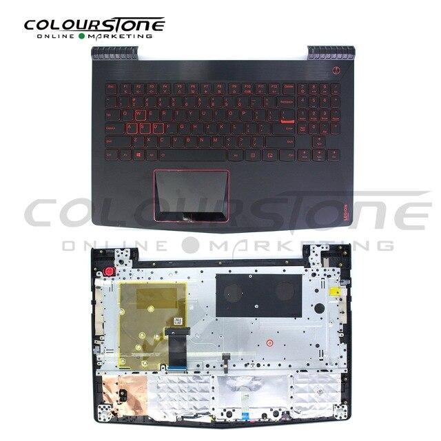 Y520 US laptop keyboard for Lenovo with topcase palmrest notebook backlit