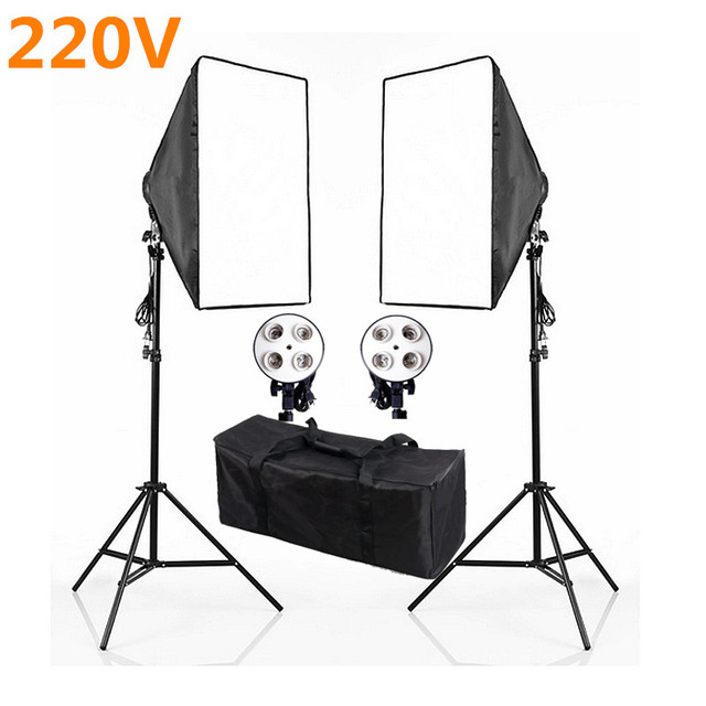 Photo Video Studio 220v 4 Socket Head photography Softbox Continuous Lighting Stand Kits Photo Studio Accessories PSK6A  sc 1 st  AliExpress.com & Online Shop Photo Video Studio 220v 4 Socket Head photography ... azcodes.com
